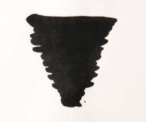 Diamine Jet Black sort fyldepenneblæk