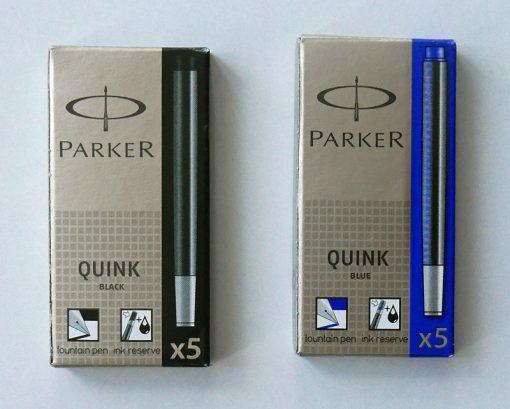 Parker fyldpennepatroner blæk
