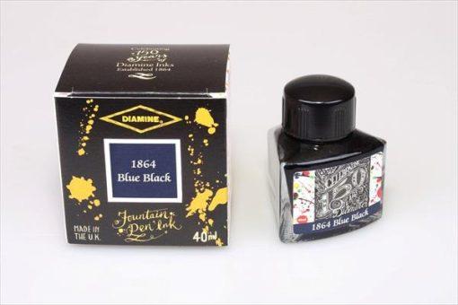 Diamine 1864 blue black blæk