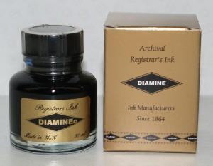 Diamine Regisrar´s ink