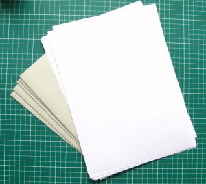 Brevpapir med kuverter A4