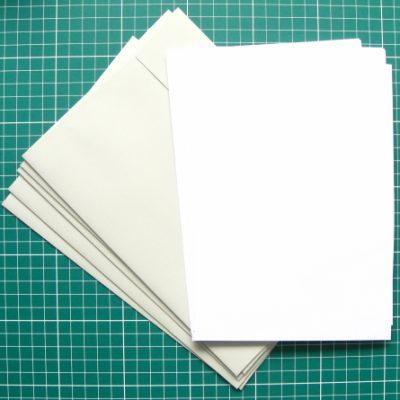 brevpapir med kuverter A5