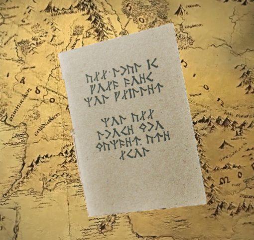 Tolkien notesbog Ringenes Herre