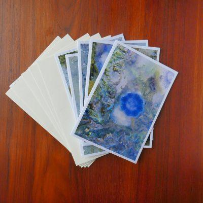 Postkort med kuverter
