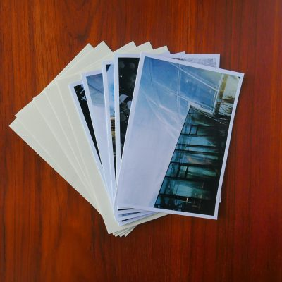 Dobbelte postkort med kuverter