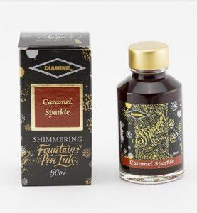 Diamine Caramel Sparkle