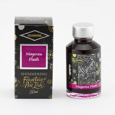 Diamine Magenta Flash Shimmering